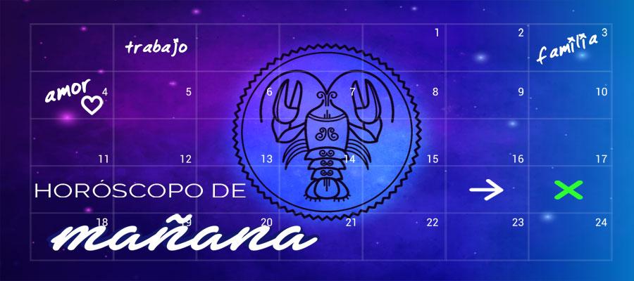 Horóscopo Cáncer de Mañana