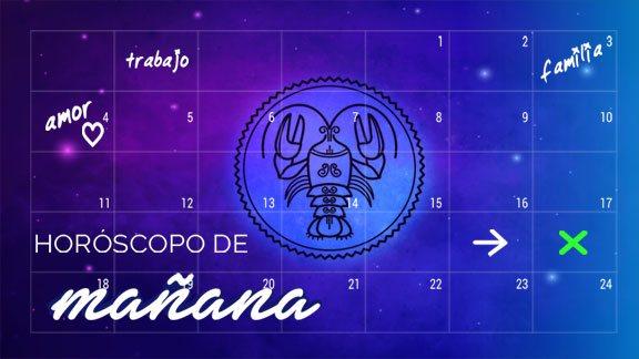 Horóscopo MAÑANA Cáncer - cancerhoroscopo.com