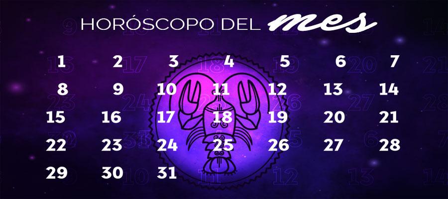 Horóscopo Cáncer Mensual – Horóscopo del mes Cáncer