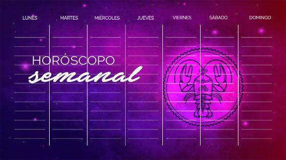 Horóscopo Cáncer semanal- cancerhoroscopo.com
